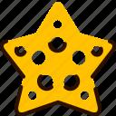 animal, beach, bukeicon, star, starfish, summer icon