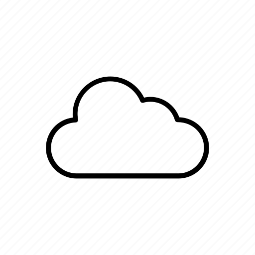cloud, summer icon
