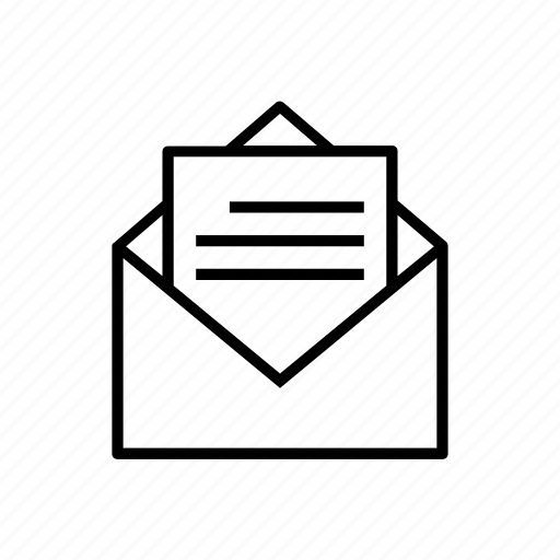 letter, summer icon