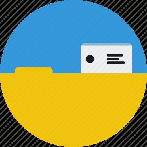 file, files, open file icon