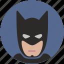 avatar, batman, comics, head, hero, mask