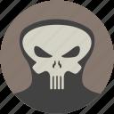 comics, death, face, head, mask, skull