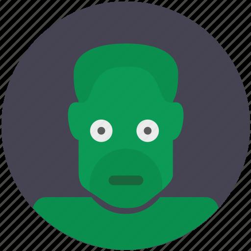 Avatar, comics, green, head, hulk, monster icon - Download on Iconfinder