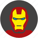 avatar, comics, head, iron, ironman, man