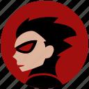 avatar, comics, face, hero, ronin, young