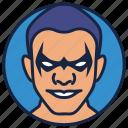 cartoon character, dick grayson, killer, villain, warrior icon