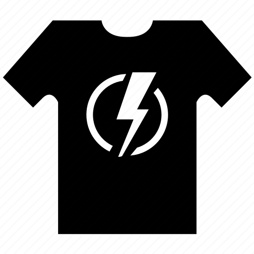 clothes, flash, hero, super, superhero, t-shirt icon