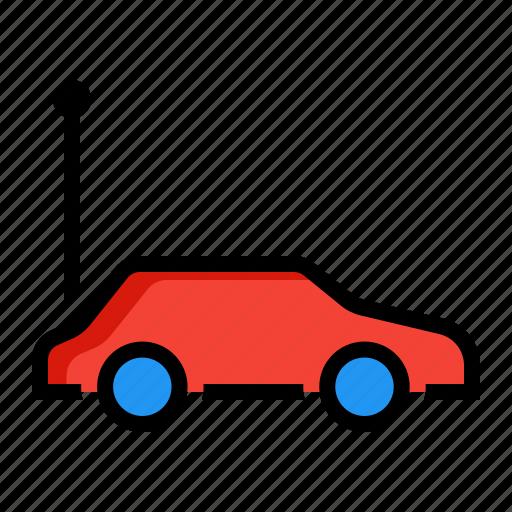 car, child, control, game, remote, toy icon