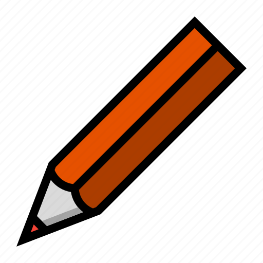 office, pencil, stationery icon