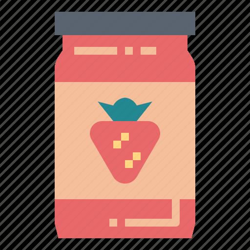 jam, strawberry icon