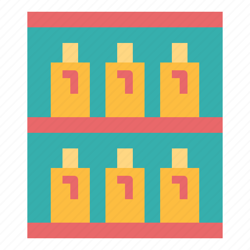 furniture, goods, shelf, supermarket icon
