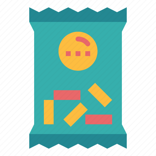 food, package, snack, supermarket icon