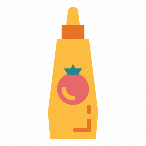 sauce, supermarket, tomato, tometo icon