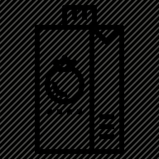 drink, juice, supermarket, tometo icon