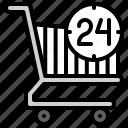 supermarket, shopping, mall