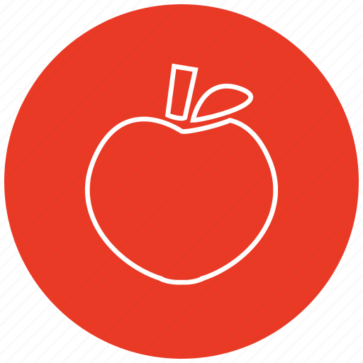apple, food, fruits, health, healthy, vegetables icon