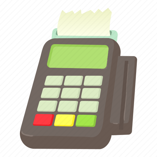 card, card reader, cartoon, cashier, credit, market, reader icon