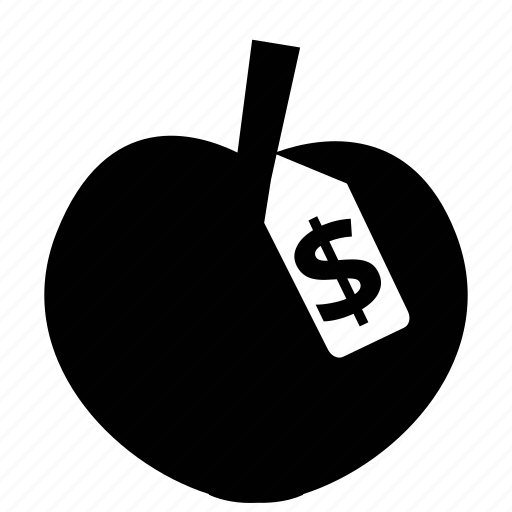 apple, business, market, price, shop, shopping, supermarket icon