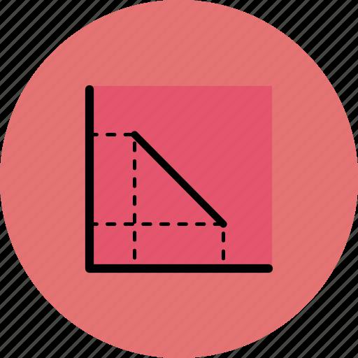 curve, demand, economy, supply icon