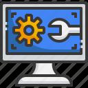 computer, technical, setting, gear, support, customer