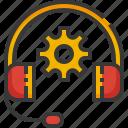tech, support, headphone, gear, technical, service