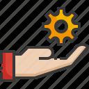 technical, support, gear, service, customer