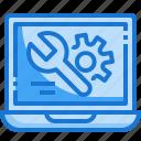 laptop, technical, setting, gear, customer, support