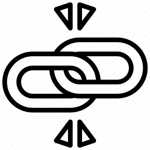 chain, connection, link, linked, multimedia, tools icon