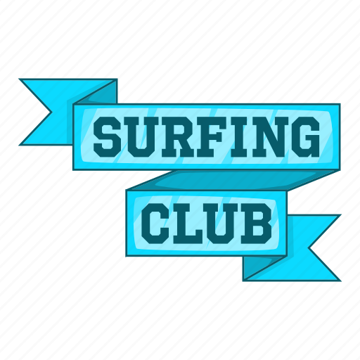 cartoon, club, design, print, stamp, surf, surfer icon