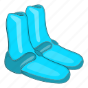 cartoon, clothing, design, life, reef, safety, shoe icon