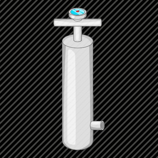 air, cartoon, design, equipment, gauge, pressure, pump icon