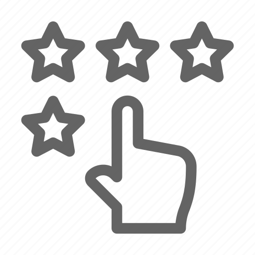 feedback, rating, review, satisfaction icon