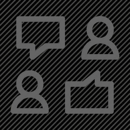feedback, review, testimonial, user icon