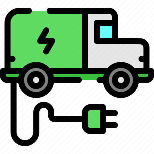 delivery, truck, vehicle icon