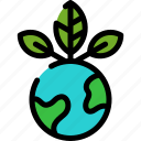 ecology, green, nature, plant icon
