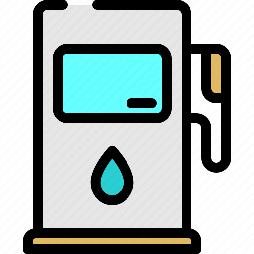 energy, fuel, gas, hydro icon