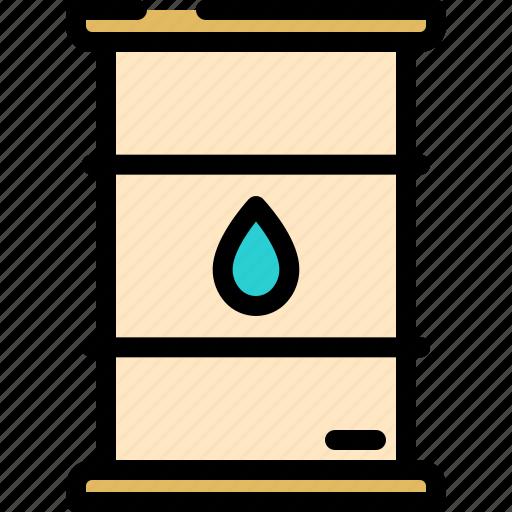 barell, fuel, gas, oil icon
