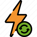 energy, hydro, power icon