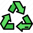 eco, environment, green, recycle icon