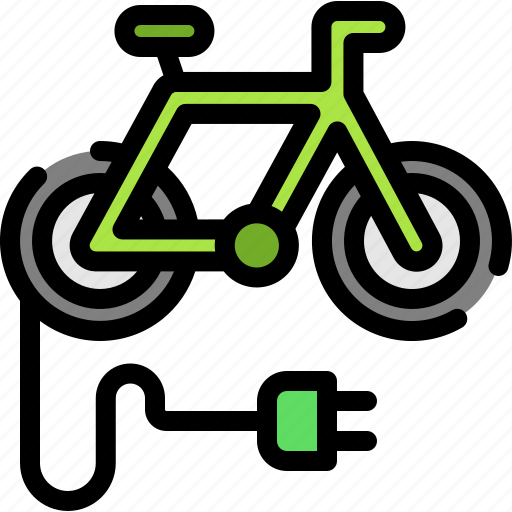 battery, bike, electric, energy icon