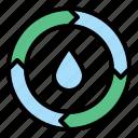 energy, sustainable icon