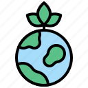 earth, energy, green, nature, sustainable icon