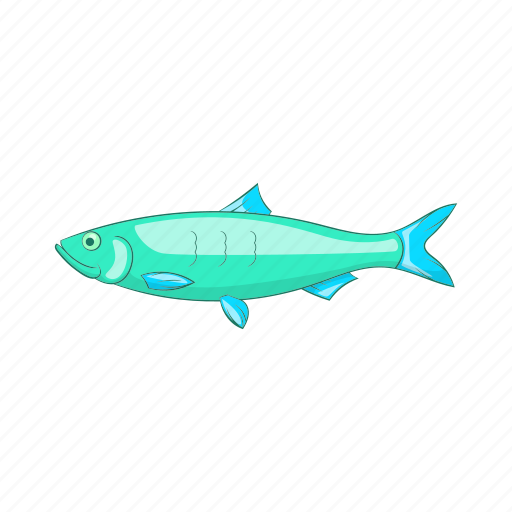 Baltic, cartoon, fish, fishing, food, herring, marine icon - Download on Iconfinder