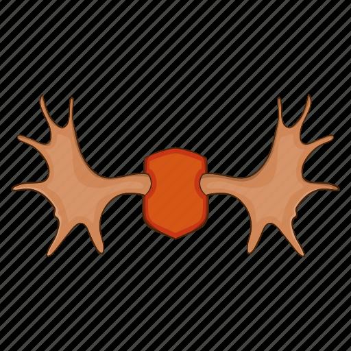 Cartoon, design, elk, horn, illustration, logo, wild icon - Download on Iconfinder
