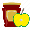 apple, eat, food, jam, sweet icon