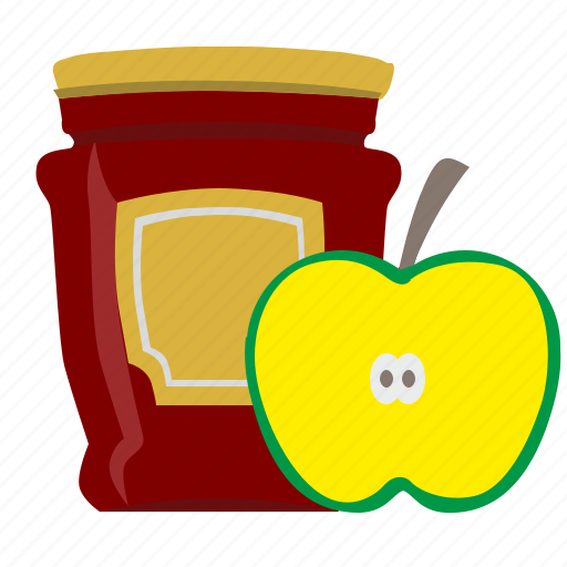 apple, eat, food, jam, sweet icon