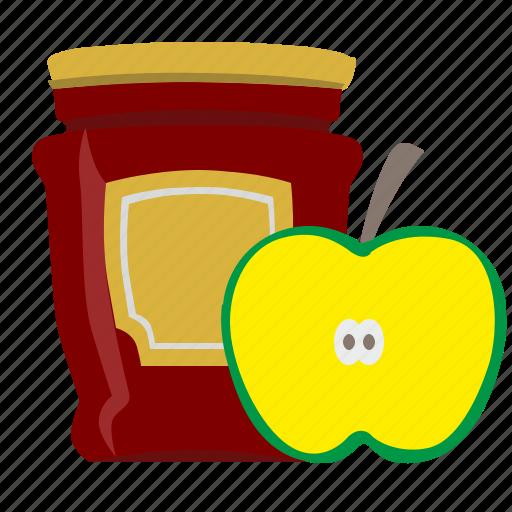 Apple, eat, food, jam, sweet icon - Download on Iconfinder