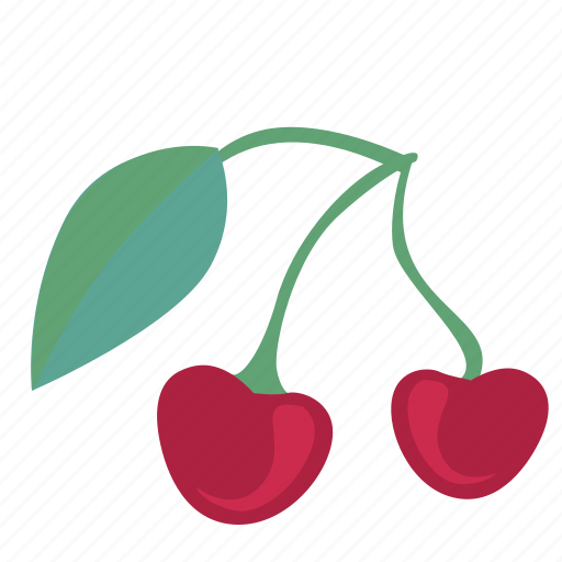 cherry, eat, food, plant, sweet icon
