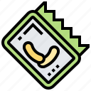 appetizer, chips, food, refreshment, snack icon