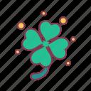 clover, faith, hope, leaf, love, lucky, plant
